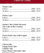 HAUER cakes to order